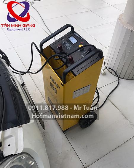 máy nạp ắc-quy hỗ trợ khởi động solary 850