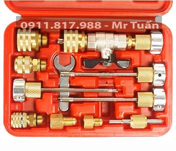 bộ dụng cụ tháo lắp lõi van điện và điện lạnh ô tô JTC-1360A