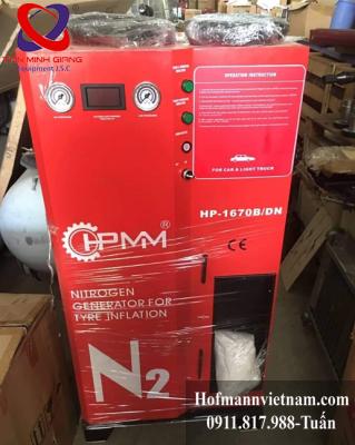 máy tạo khí nitơ bơm lốp xe