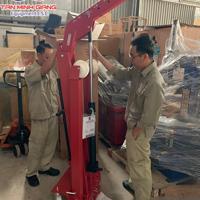 cẩu móc động cơ 2 tấn Werther-Ý