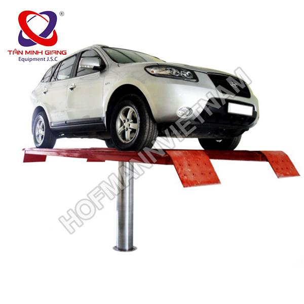 Cầu nâng 1 trụ rửa xe ấn độ